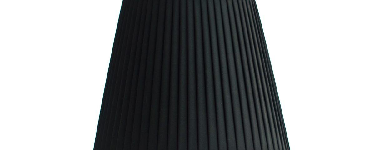 abażur czarny