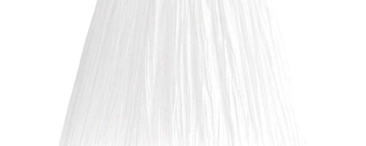 biały abażur