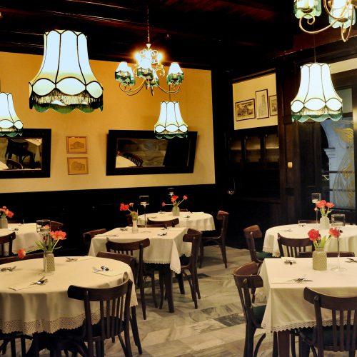 abażury restauracja